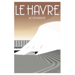 LE HAVRE, LE VOLCAN.
