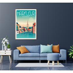 HARFLEUR, LA LEZARDE.